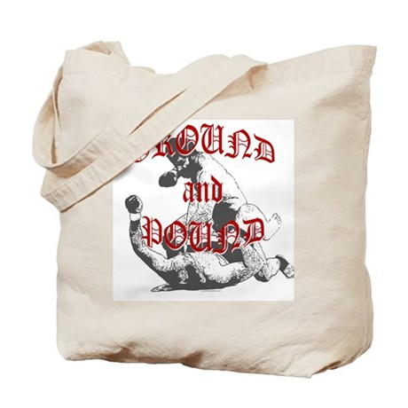 Ground And Pound Tote Bag