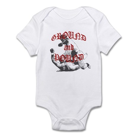 Ground And Pound Infant Bodysuit