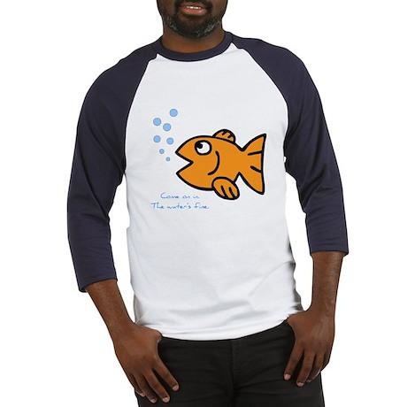 Gold Fish Baseball Jersey