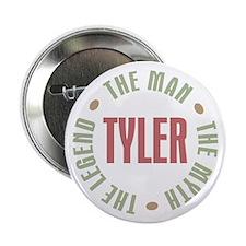 "Tyler Man Myth Legend 2.25"" Button"