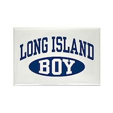 Long Island Boy Rectangle Magnet