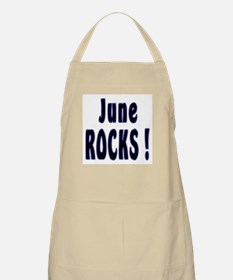 June Rocks ! BBQ Apron