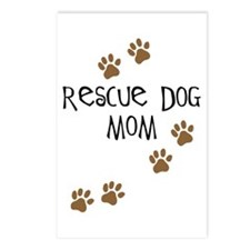Rescue Dog Mom Postcards (Package of 8)