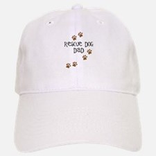 Rescue Dog Dad Baseball Baseball Cap