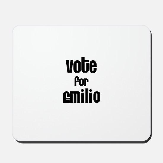 Vote for Emilio Mousepad