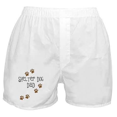 Shelter Dog Dad Boxer Shorts