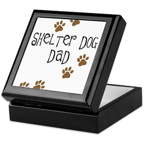 Shelter Dog Dad Keepsake Box