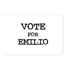 Vote for Emilio Postcards (Package of 8)
