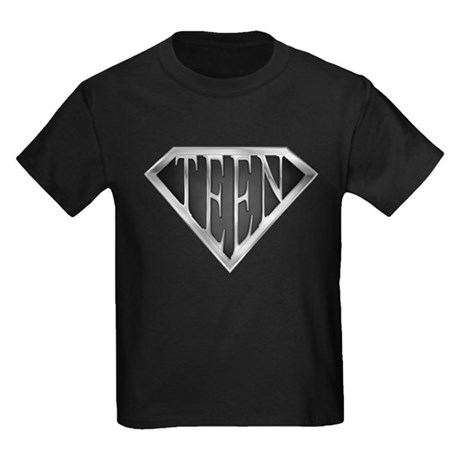 SuperTeen(metal) Kids Dark T-Shirt