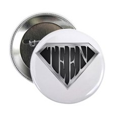 """SuperTeen(metal) 2.25"""" Button (10 pack)"""