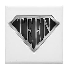 SuperTeen(metal) Tile Coaster