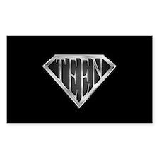 SuperTeen(metal) Rectangle Decal