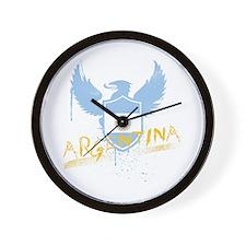 Argentina Winged Wall Clock