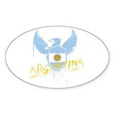 Argentina Winged Oval Decal