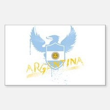 Argentina Winged Rectangle Decal