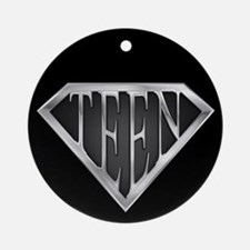 SuperTeen(metal) Ornament (Round)