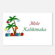 Mele Kalikimaka Postcards (Package of 8)