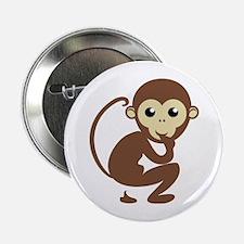 Poo Monkey Button