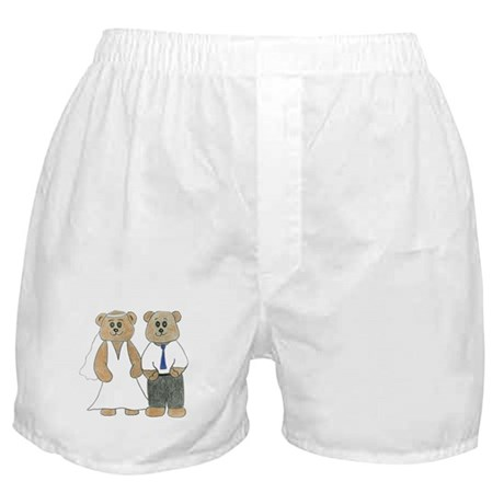 Wedding Bears Boxer Shorts