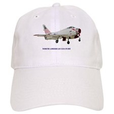 North American FJ-4 Fury Baseball Cap