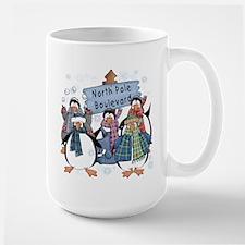 North Pole Penguins Mug