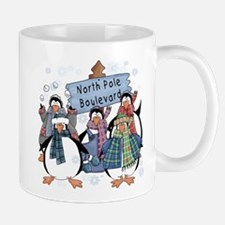 North Pole Penguins Mug