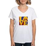 Appraisals Love Women's V-Neck T-Shirt
