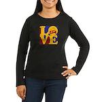 Appraisals Love Women's Long Sleeve Dark T-Shirt