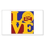 Appraisals Love Rectangle Sticker
