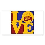 Appraisals Love Rectangle Sticker 10 pk)