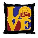 Appraisals Love Throw Pillow