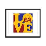 Appraisals Love Framed Panel Print