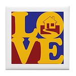Appraisals Love Tile Coaster