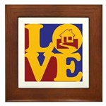Appraisals Love Framed Tile