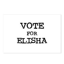 Vote for Elisha Postcards (Package of 8)