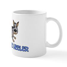 i love my blue heeler Small Mug
