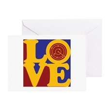 Air Traffic Control Love Greeting Card