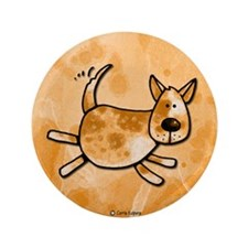 """i love my red heeler 3.5"""" Button (100 pack)"""
