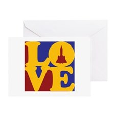 Aerospace Engineering Love Greeting Card