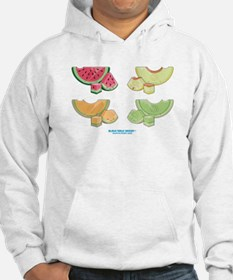 Kawaii Summer Melons Group Hoodie