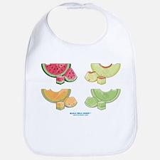 Kawaii Summer Melons Group Bib