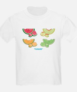 Kawaii Summer Melons Group T-Shirt