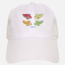 Kawaii Summer Melons Group Baseball Baseball Cap