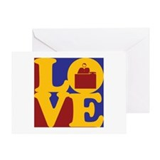 Admissions Love Greeting Card