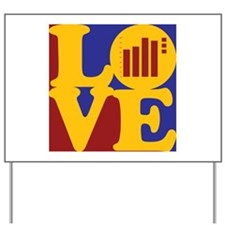 Actuarials Love Yard Sign