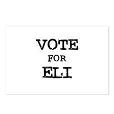Vote for Eli Postcards (Package of 8)