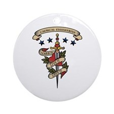 Love Chemical Engineering Ornament (Round)