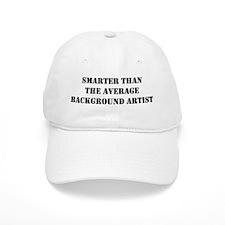 Average background artist Baseball Cap
