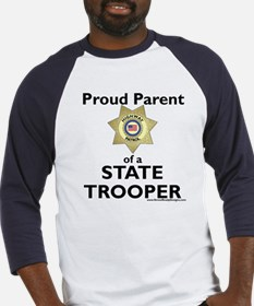 Parent of a State Trooper Baseball Jersey