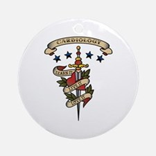Love Cardiology Ornament (Round)